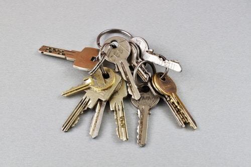 trousseau-clés-maison