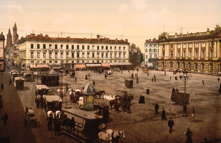 Toulouse-place-du-capitole